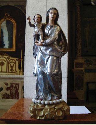 Kip-pulena Gospe od Ruzarija. Izvor: Vinicije B. Lupis