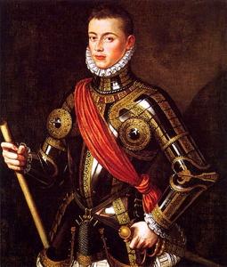 Zapovjednik flote Svete lige - Don Juan od Austrije  Izvor: Wikipedia.com
