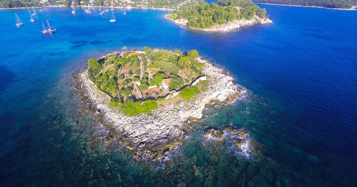 Tko je živio na otoku Gubeša?