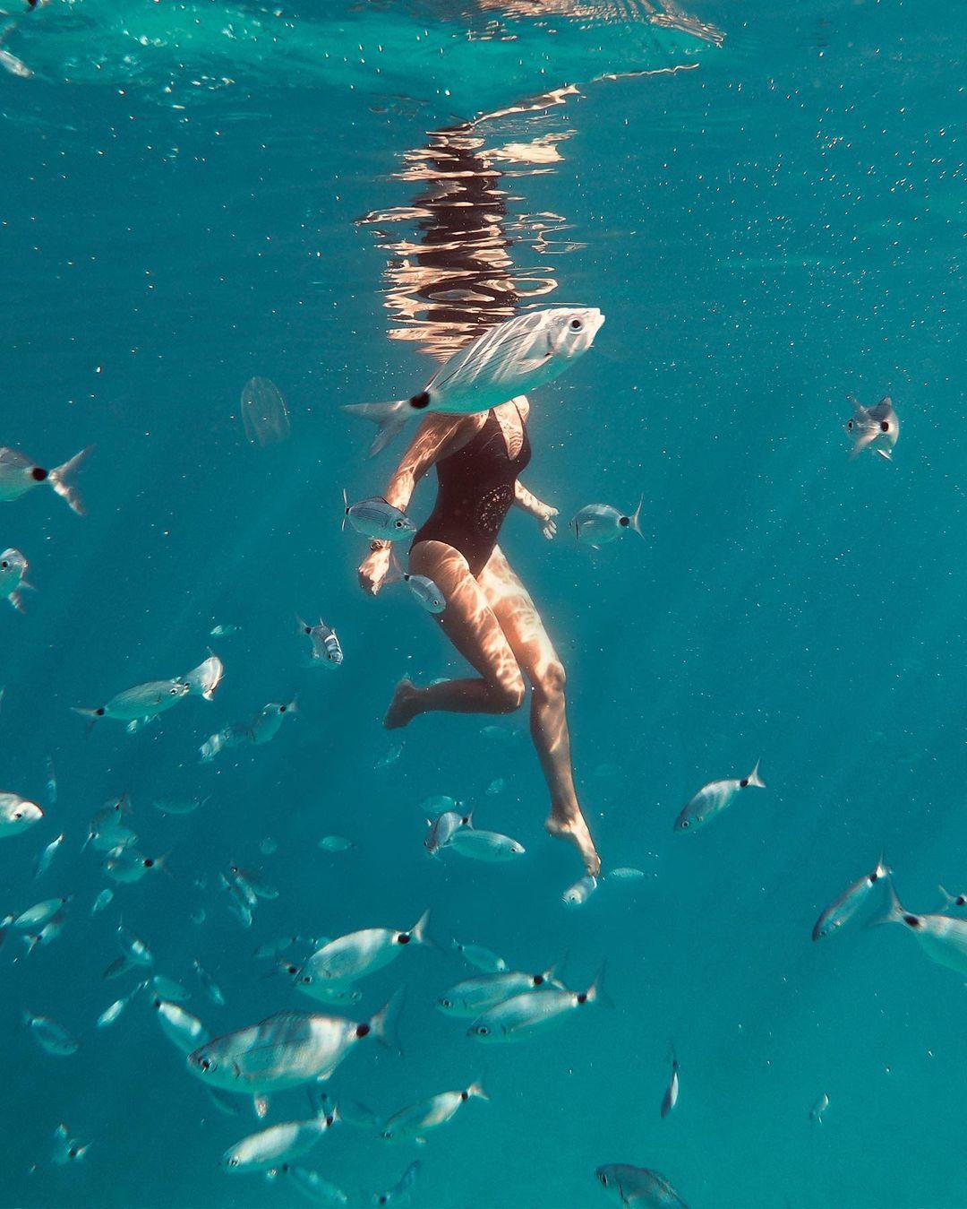 žena riba
